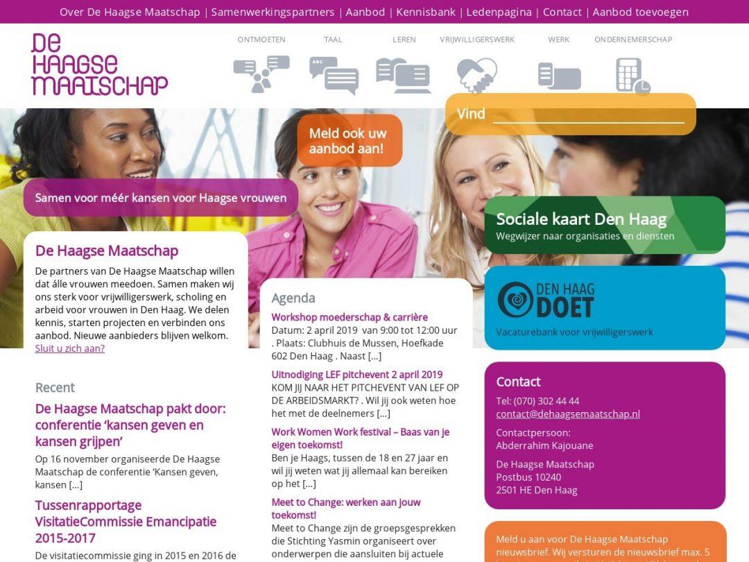 Digital Platform De Haagse Maatschap